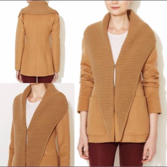Mackage Jackets & Blazers - Mackage Bessie Wool Knit Lapel Jacket Aritzia